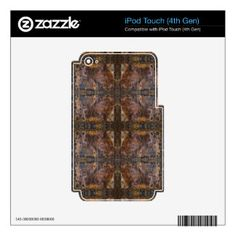 Sedona's Sacred Space Cross by Deprise iPod Touch 4G Skin