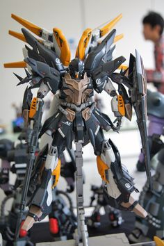 GUNDAM GUY: 1/100 Sinanju - Custom Build