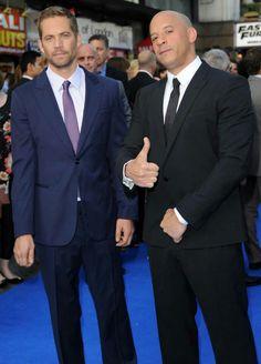 Paul Walker and Vin Diesel...yum!!! two most gorgeous men