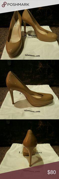 L.K. Bennett Stilletos Cute shoes! Nice shape. Textured bottoms. Made in Spain. Dust bag included. L.K. Bennett  Shoes Heels