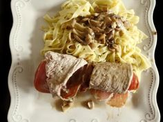 Bocconcini : roulés de veau au jambon de Parme et au gorgonzola - Recette de cuisine Marmiton : une recette