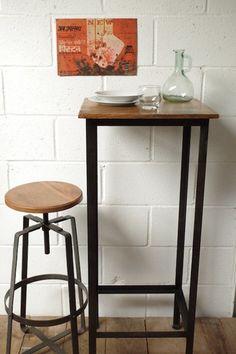 Industrial Bar Table www.vincentandbarn.co.uk