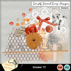 Pack of 15 Elements for the October 2017 mini kit. Personal & Scrap for Hire use only. 300dpi. Full size. #mymemories #mymemoriessuite #scrapbooking #digitalscrapbooking #digiscrapbooking #digitalscrapbookkits #kits #papers #elements #tags #frames #flowers #digitalflowers #digitalpapers #digitalribbons #digitalbows #digitalframes #digitalscatters #digitalmasks
