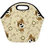 Insulated Lunch Tote Bag Dogs Reusable Neoprene Portable Lunchbox Handbag For Men Women Adult Kids Boys Girls Insulated Lunch Tote, Lunch Tote Bag, Handbags For Men, Kids Boys, Boy Or Girl, Lunch Box, Dogs, Girls, Women