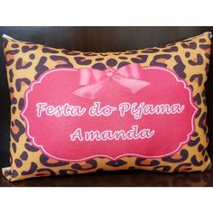 Almofada Festa do Pijama Ondinha
