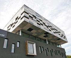 Wilberg Atrium? Norway. EQUITONE facade materials. equitone.com