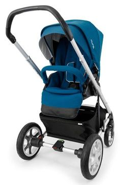 Mix up your strolling style with the Nuna MIXX, which features five comfortable positions. Reverse the seat to face you or face forward, or recline the seat completely so baby can nap in comfort. All-terrain wheels and all-wheel suspension make for smooth strolling over rough terrain, while a one-hand fold, large storage compartment and adjustable handlebar makes for smoother parenting, too.