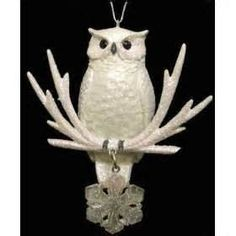 Beautiful owl ornament
