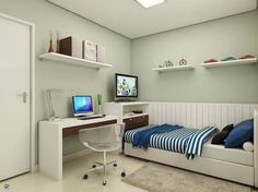 quarto de adolesc pequeno - Buscar con Google