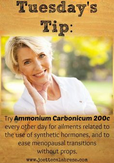 Homeopathic help for menopause. ~joettecalabrese.com   Keeping in Shape 40-60   Pinterest