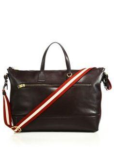 BALLY Novo Leather Weekender Bag.  bally  bag Bally Bag c0a62ece87