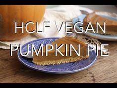 VEGAN PUMPKIN PIE - oil & gluten free || epically ethical thanksgiving || - YouTube