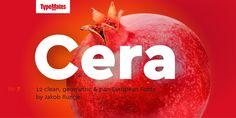Cera Pro designed by Jakob Runge in 2015