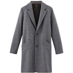 Overcoat (755 AUD) ❤ liked on Polyvore featuring outerwear, coats, coats & jackets, over coat and flannel coats