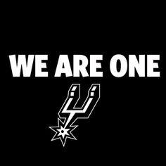 @San Antonio Spurs San Antonio Spurs. We are one!
