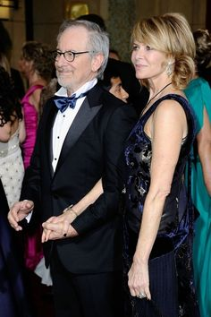 Kate Capshaw with Husband Steven Speilberg 2012 Oscars See more hairstyles for Women over 45 http://stillblondeafteralltheseyears.com/category/hairstyles-for-women-over-45/