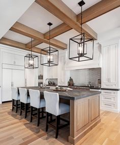 Who wishes they were cooking up a storm in the kitchen from Mount Royal {morrison} today? Home Decor Kitchen, New Kitchen, Kitchen Interior, Kitchen Dining, Design Kitchen, Modern Farmhouse Kitchens, Home Kitchens, Kitchen Modern, Style At Home