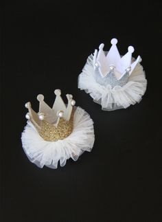 Princess Crown Hair clip - Silver - Hello Alyss Exclusive - Hello Alyss - Designer Children's Fashion Boutique