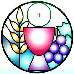 Everyday Stewardship: Feast of Body and Blood of Jesus Christ (Corpus Christi) First Communion Banner, First Holy Communion, Clipart, Feast Of Corpus Christi, Première Communion, In Remembrance Of Me, Christian Symbols, Church Banners, Fused Glass