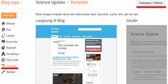 Cara Mengganti template blogger - upload/backup template