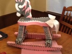 Hand painted Rocking Horse