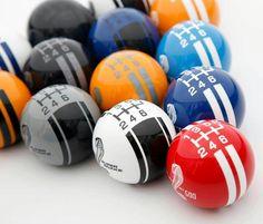 Shifter pool balls