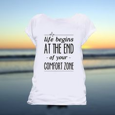 Life Begins Tee Women's, 29€, now featured on Fab.