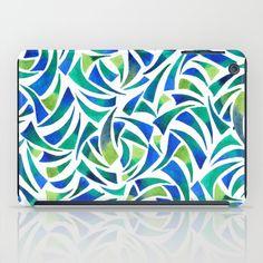 Sea Glass iPad Case #seaglass #art #green #ocean #abstract #artist #design #pattern #society6 #ipad #ipadcase