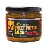 Yummy Yammy® Brand Hot Mexican Sweet Potato Salsa, with Black Bean, Corn & Chipotle; No Fat, No Sweetener, Thick & Chunky, Naturally Delicious & Nutritious by Yummy Yammy LLC