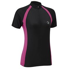 Tenn Ladies Sprint Short Sleeve Cycling Jersey  BlackPink  8 * See this great product.Note:It is affiliate link to Amazon.