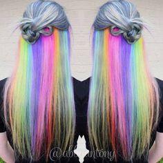 Rainbow underneath