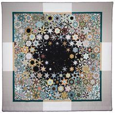 One Block Wonder - Bruce Seeds One Block Wonder, Quilting Projects, Quilting Designs, Quilting Ideas, Art Quilting, Quilt Art, Millefiori Quilts, Kaleidoscope Quilt, Hexagon Quilt