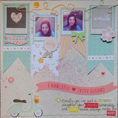 Dear Lizzy Neapolitan Layout  -Mels Happy Scrappy Place