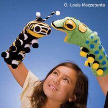 caterpillar puppets
