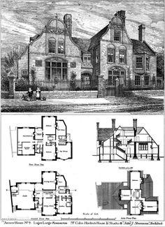 1877 - Colin Hunter's House & Studio, Kensington, London - Archiseek.com