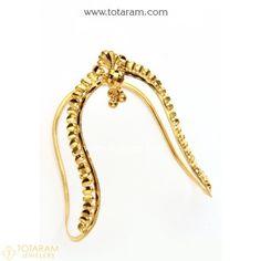 Bracelet Models - Gold Baby Arm Vanki - My Popular Photo Vanki Designs Jewellery, Indian Gold Jewellery Design, Jewelry Design, Indian Jewelry, Gold Arm Cuff, Cuff Jewelry, Gold Jewelry, Arm Bracelets, Gold Bangles