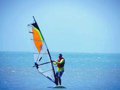 Windsurf no porto do Mucuripe