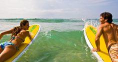 Surf's up in Waikiki!