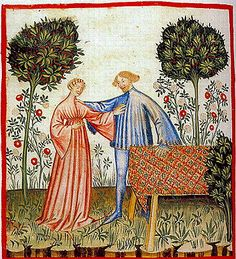 A Feast For The Eyes  36. A rose garden, representing joy; from the Theatrum Sanitatis, Library Casanatense, Rome.