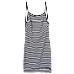 Chic Striped Print Back Cutout Bodycon Dress OASAP.COM (110 VEF) ❤ liked on Polyvore featuring dresses, oasap, vestidos, form fitted dresses, cutout bodycon dress, sleeveless dress, striped bodycon dress and cutout dress