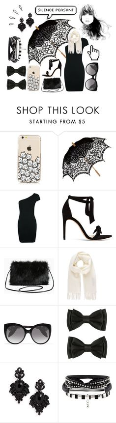 """silence peasant"" by beautiful-whats-your-hurry ❤ liked on Polyvore featuring Remedios, Boohoo, Alexandre Birman, Torrid, Vivienne Westwood, Alexander McQueen, Tasha and Old Navy"
