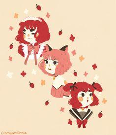 Tokyo Mew Mew Ichigo, Manga, Mermaid Melody, Butler Anime, Kawaii Art, Cute Art Styles, Character Design Inspiration, Anime Art Girl, Magical Girl