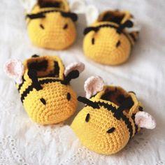 minion crochet patterns Bumble Bee Baby Booties by Kittying Crochet Pattern from Minion Crochet Patterns, Pokemon Crochet Pattern, Crochet Pattern Free, Crochet Bee, Cute Crochet, Crochet For Kids, Baby Patterns, Crochet Hats, Booties Crochet