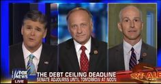 'LET ME GET THIS THROUGH YOUR LIBERAL HEAD!': HANNITY'S FIERY CLASH WITH A DEM CONGRESSMAN OVER THE DEBT CEILING