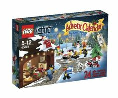 City Town 60024 - LEGO City Calendario Dell'Avvento: Amazon.it: Giochi e giocattoli