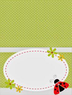 Sweet Ladybugs Free Printable Candy Bar Labels.