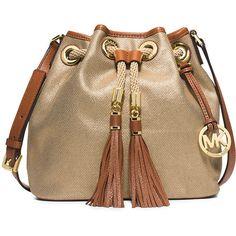 a994aa2ad844 MICHAEL Michael Kors Marina Medium Canvas Messenger Bag Mk Handbags