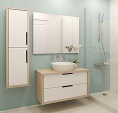 Si buscas darle a tu baño un ambiente fresco y crear la sensación de un espacio más amplio, el azul claro es perfecto. Utiliza el tono que más te guste y utilízalo con muebles y pisos claros. Si quieres agregarle un toque más innovador, combínalo con diferentes tonos de la misma gama de color.
