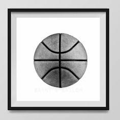 Basketball Photo Print Black and White, Decorating #art #photography @EtsyMktgTool http://etsy.me/2ixLthC