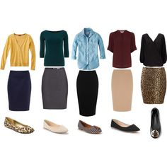 A Week in Pencil Skirts